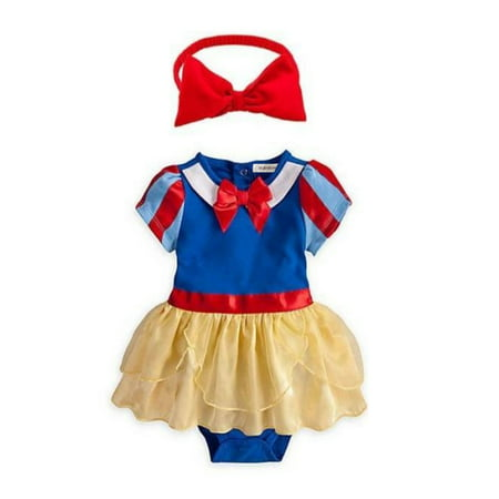 StylesILove Baby Girl Snow White Costume and Headband (18-24 Months)
