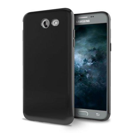 For Samsung Galaxy J7 PERX J7V TPU CANDY Gel Flexi Skin Case Cover +Screen Guard