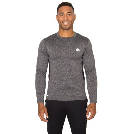 RBX Active Men's Long Sleeve Insulated Running Shirt