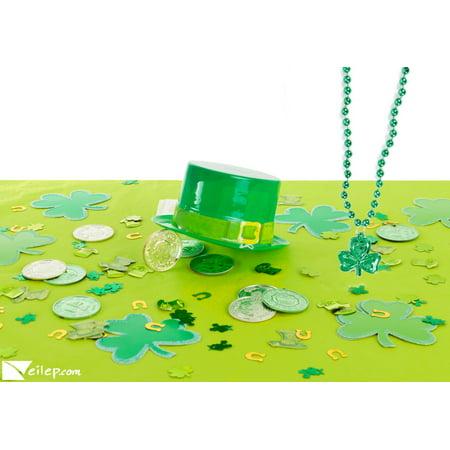 St. Patty's Day Kids Leprechaun Catcher 45pc Decoration Pack, Green Gold Silver](Leprechaun Decorations)