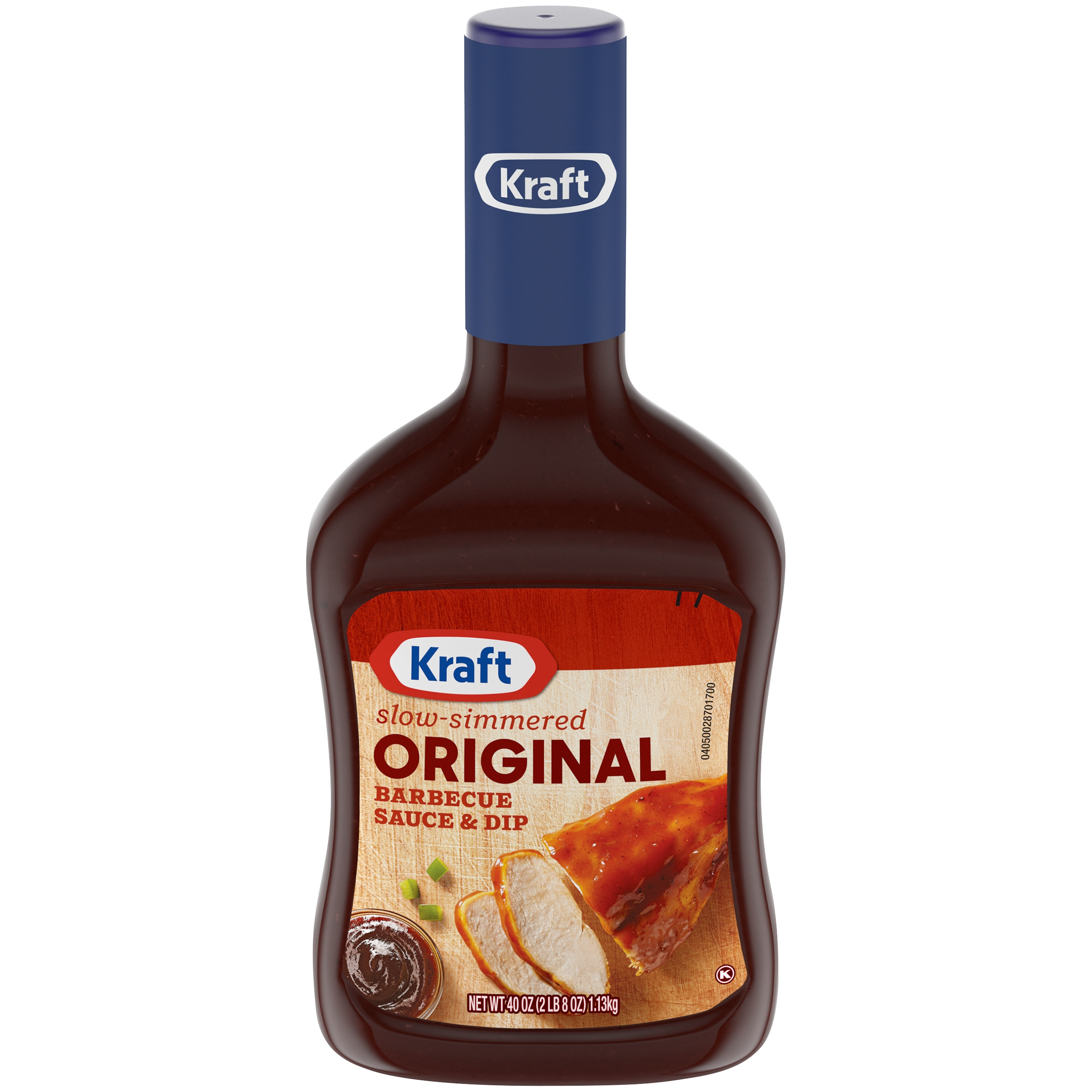 Kraft Slow-Simmered Original Barbecue Sauce & Dip 40 oz. Bottle