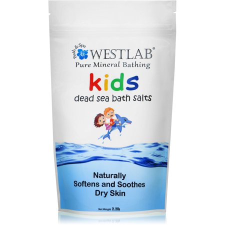 Westlab Bath   Spa Pure Mineral Bathing Kids Dead Sea Bath Salts  2 2 Lb
