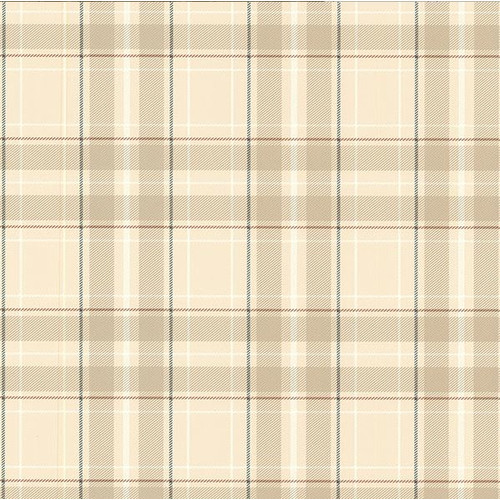 Brewster Home Fashions Oxford Caledonia 33' x 20.5'' Plaid 3D Embossed Wallpaper