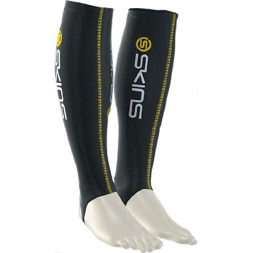 Skins Sport Sox Compression Socks Black Medium
