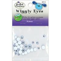 Wiggly Eyes 30/Pkg-