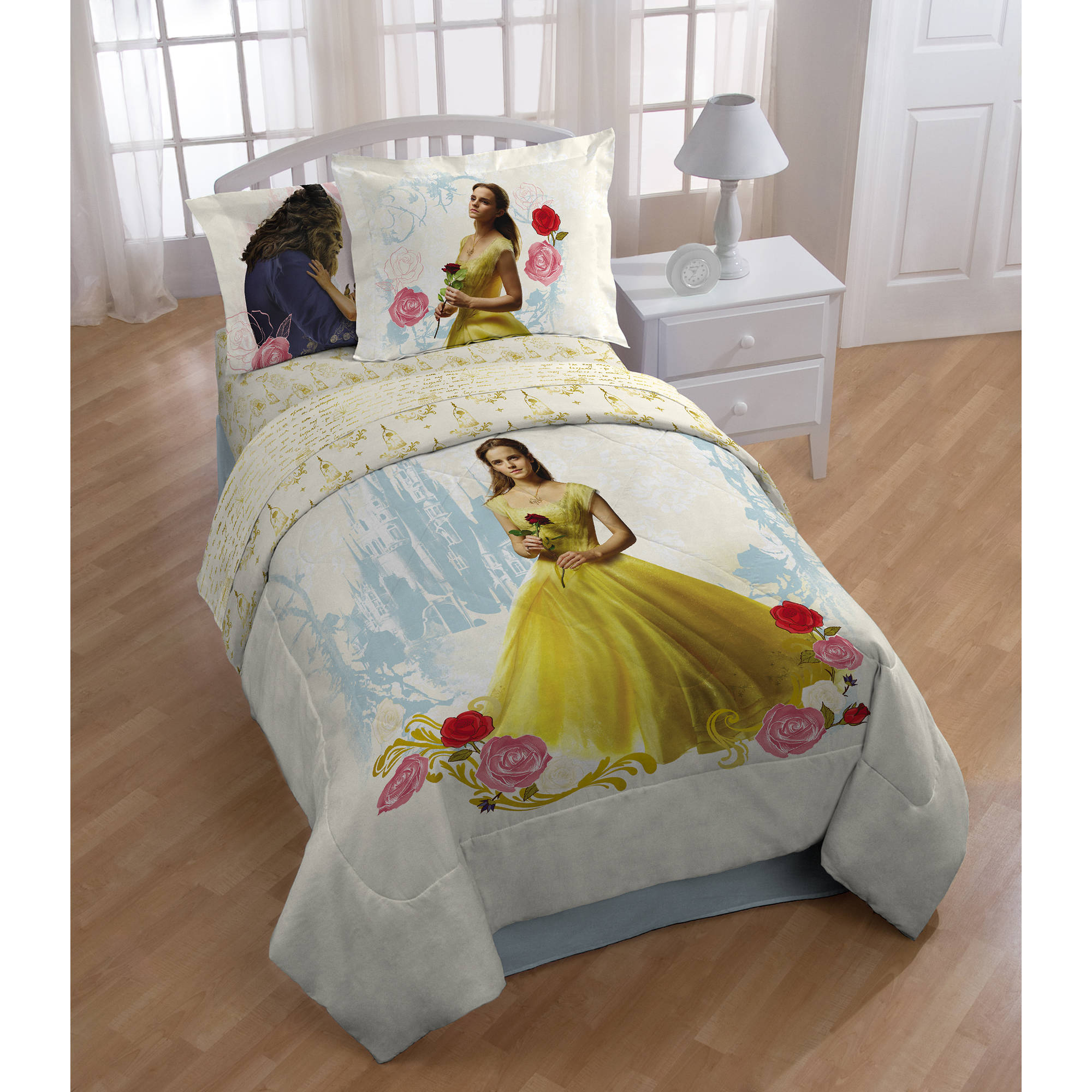 Disney's Beauty and the Beast 'Romantic Beauty' Kids' Bed-in-a-Bag