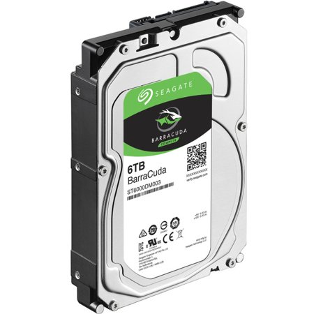 Seagate BarraCuda 6TB 5400RPM SATA 3.5 HDD (Media Cache Halloween)