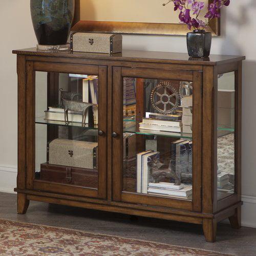 Loon Peak Methuen Console Curio Cabinet
