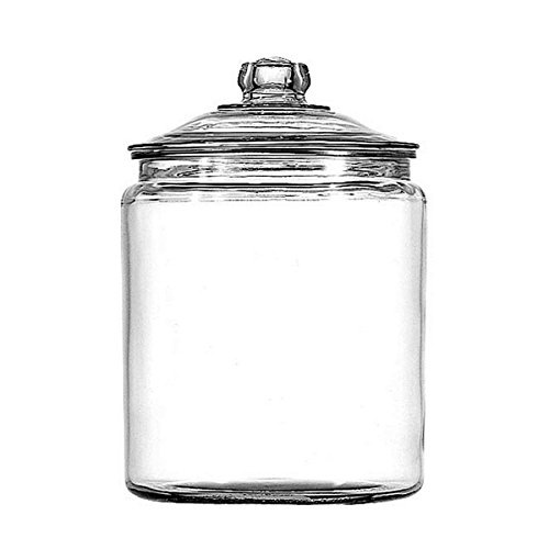 1-gallon Heritage Hill Jar, Material: Glass, Plastic Lid Is BPA Free, Ship from USA,Brand Anchor Hocking by