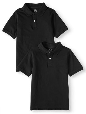 cee06217fee Product Image School Uniform Short Sleeve Pique Polos, 2-piece Multipack  (Little Boys & Big