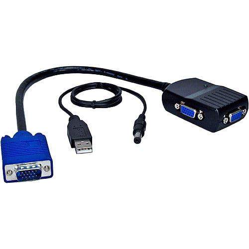 QVS 1 x 2 VGA/QXGA Mini Video Distribution Amplifier