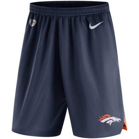 Denver Broncos Nike Sideline Knit Performance Shorts - Navy