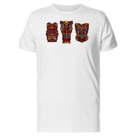 Set Of Tiki God Statues Tee Men's -Image by Shutterstock](Tiki God)