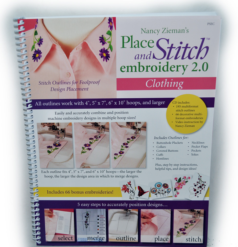 Place and Stitch Embroidery 2.0 Clothing