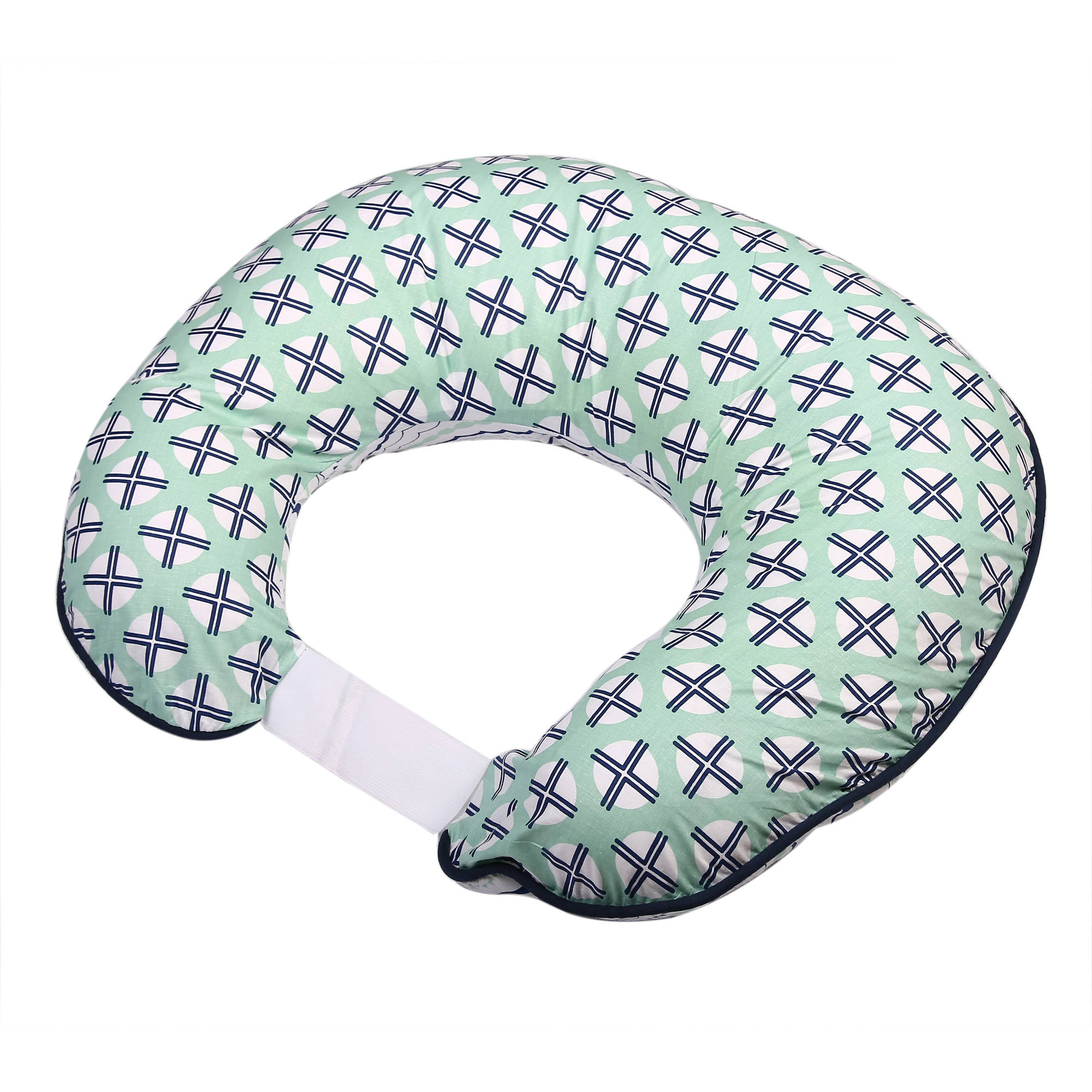 Bacati - Noah Tribal Mint/Navy Nursing Pillow Cover fits perfectly only Bacati - Hugster Nursing Pillow