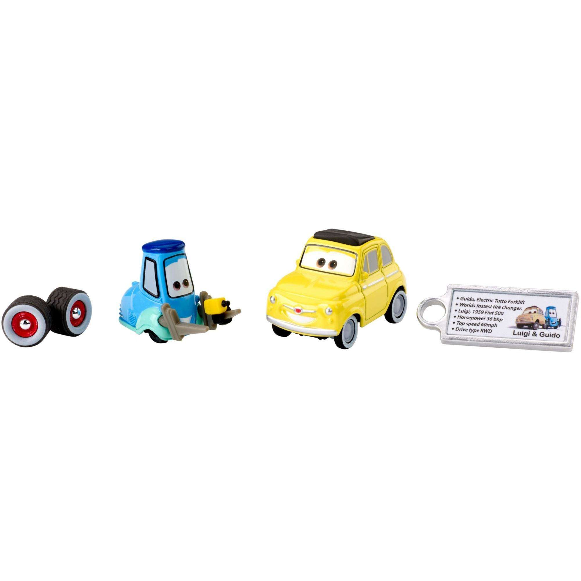 Disney Pixar Cars Precision Series Guido Luigi Die Cast Vehicles