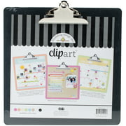 "Doodlebug Clipart Monochromatic Clipboard, 13.5"" x 13.5"""