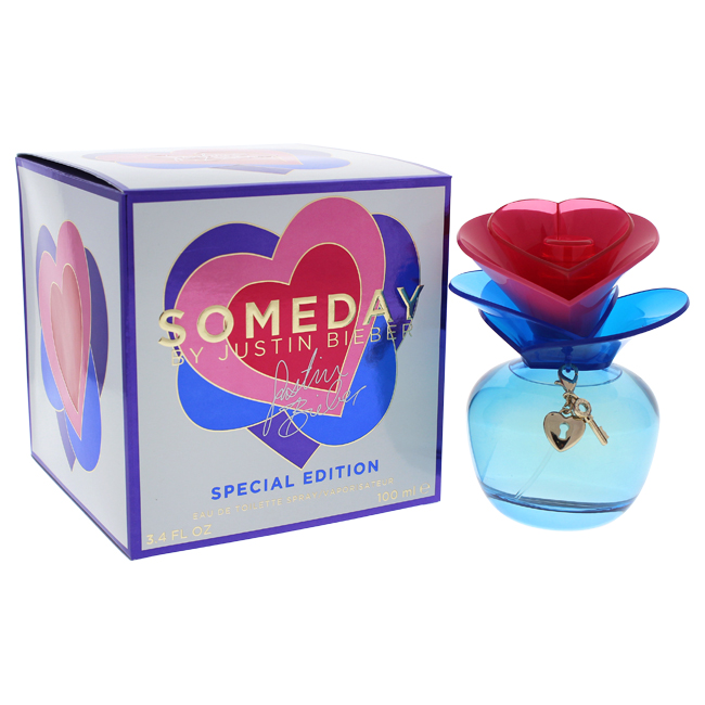 Someday by Justin Bieber for Women - 3.4 oz EDT Spray (Special Edition)