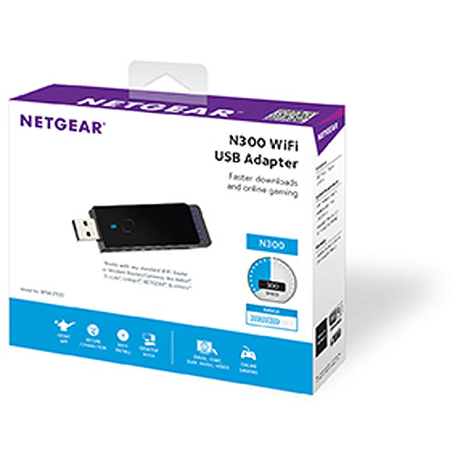 NETGEAR N300 WiFi USB Adapter (WNA3100)