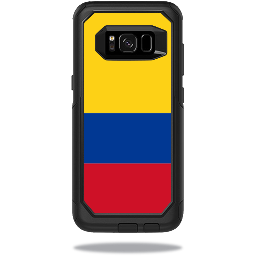MightySkins Protective Vinyl Skin Decal for OtterBox CommuterSamsung Galaxy S8 Case sticker wrap cover sticker skins Colombian Flag