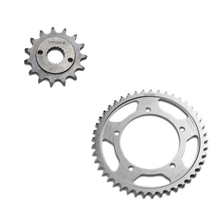 Kawasaki Zx7 Rear - 1991-1992 Kawasaki Ninja ZX7 ZX750 Front and Rear Sprockets Set