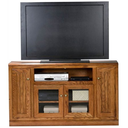 Heritage Tall Entertainment Console (Medium Oak)