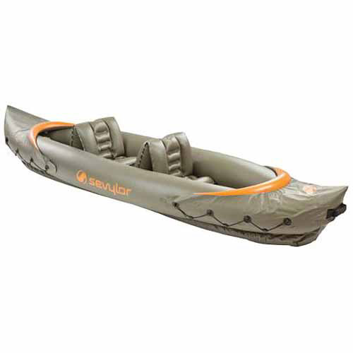 Sevylor Tahiti Fish Hunt 2-Person Inflatable Kayak by COLEMAN