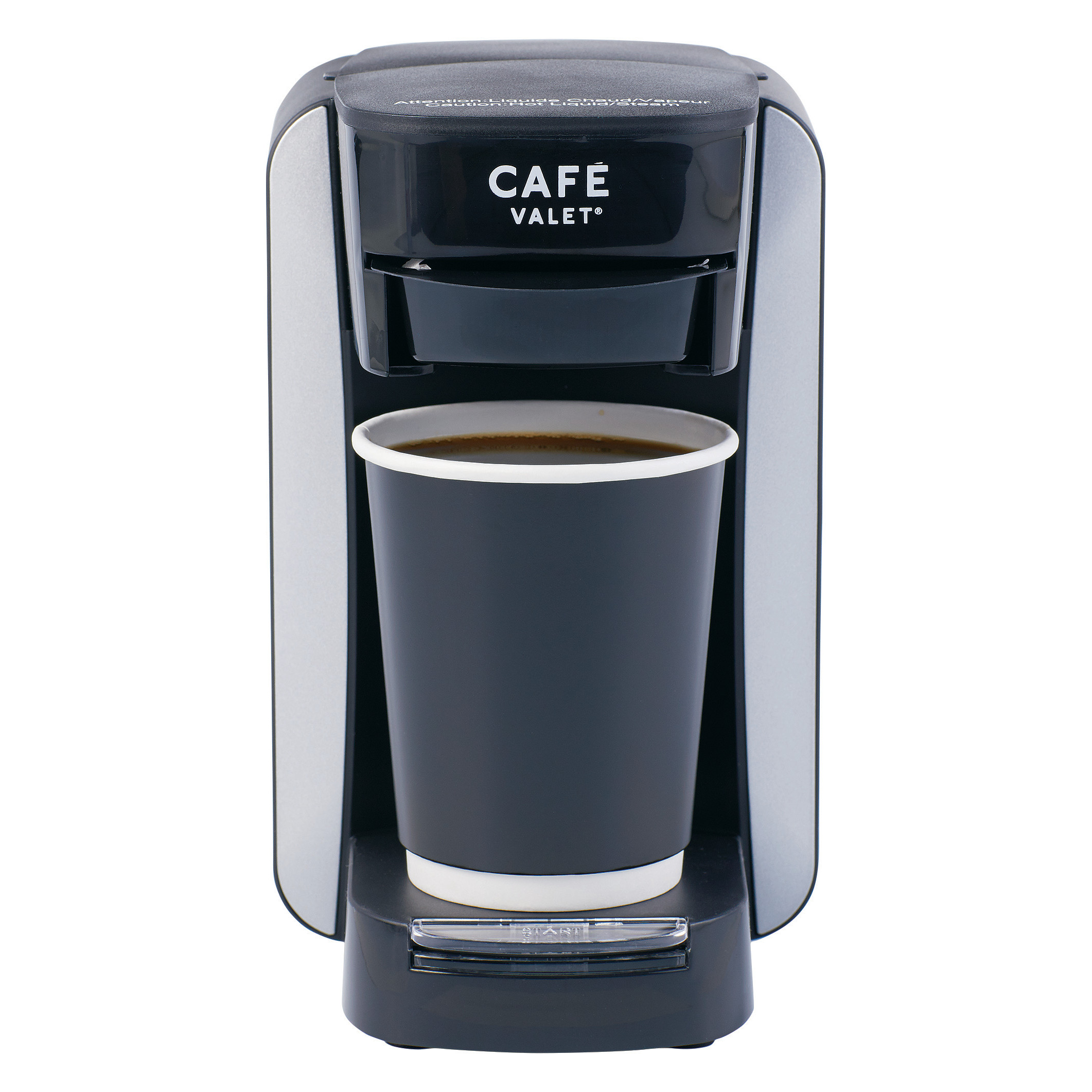 Cafe Valet Single Serve Coffee Maker Brews 10 Ounces Of Coffee Or Hot Water Compatible With Cafe Valet Coffee Packs Walmart Com Walmart Com