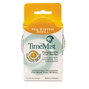 Timemist 30-4607TM Fragrance Refills for Continuous Fan Dispenser TMS304607TM