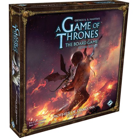 A Game of Thrones: The Board Game Second Edition - Mother of Dragons Expansion - Halloween M&m Game
