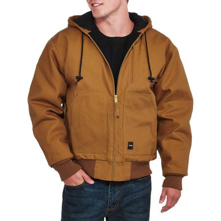 Walls Mens Insulated Duck Hooded Jacket