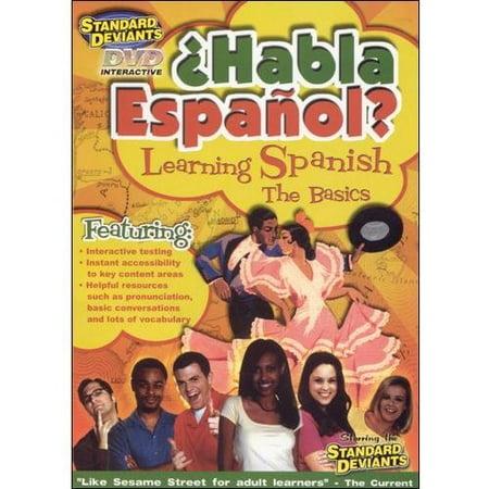 The Standard Deviants  Habla Espanol    Learning Spanish  The Basics