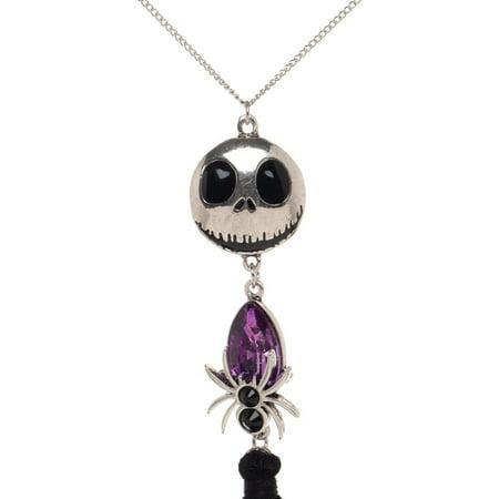 Necklace - Nightmare Before Christmas - Jack Fringe Pendant New Licensed nk74ygnbc - image 1 of 2
