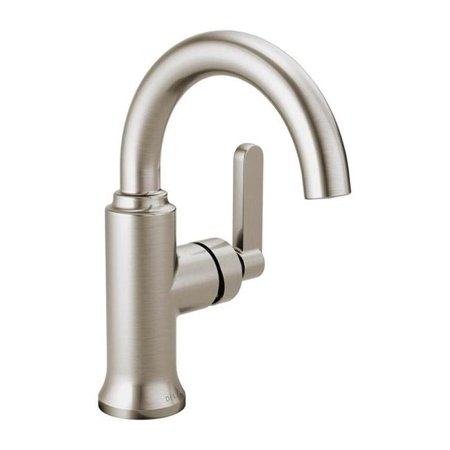 Delta 15769LF-SP 4 in. Alux Single Handle Lavatory Faucet - Brushed Nickel