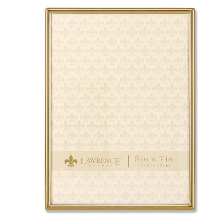 5x7 Simply Gold Metal Picture Frame