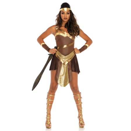 Leg Avenue Golden Gladiator Adult Womens Costume
