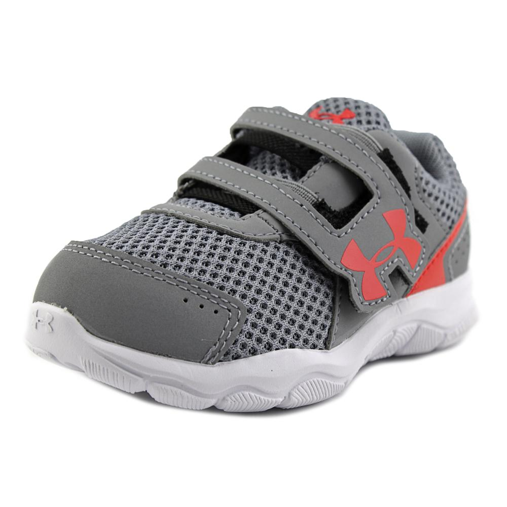 Under Armour B Inf Engagle Bl 3 Ac Infant Round Toe Synth...