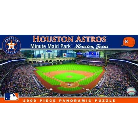 MasterPieces Houston Astros 1000PC Panoramic