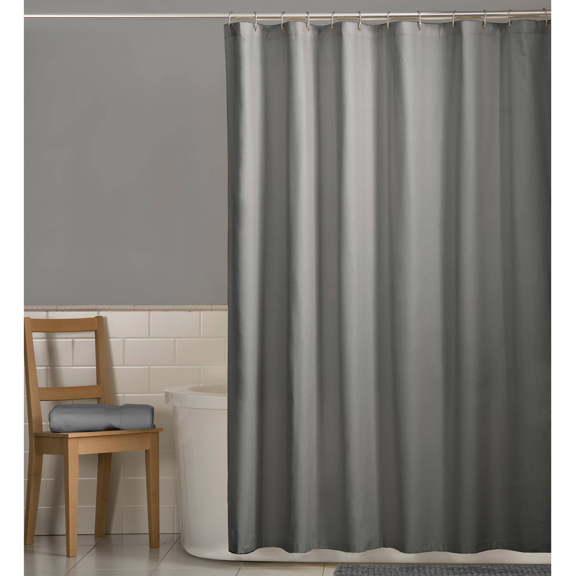 Mainstays Fabric Shower Curtain Liner - Walmart.com