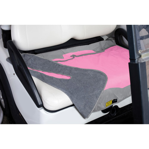 GOLF SEAT BLANKET PINK/GREY