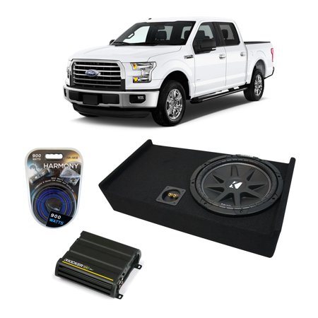 09-15 Ford F-150 Super Crew Truck Kicker Comp C12 Single 12