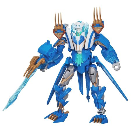 Girl From Transformers (Prime Robots in Disguise Voyager Class - Star Seeker Thundertron Figure, Powerful Star Seeker Thundertron robot-to-vehicle figure By Transformers From)