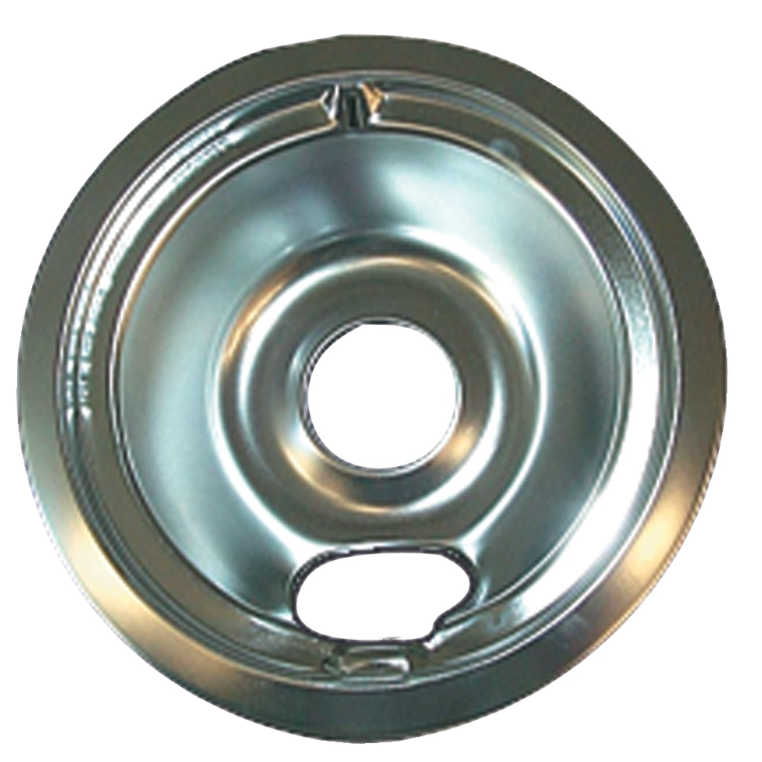 "Range Kleen 119-A Chrome Drip Pan For GE/Hotpoint, Style B (6"")"