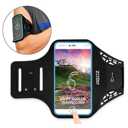 Armband Phone Case Sports Gym Running Workout Exercise Water Resistant Multi-Functional Card Holder Key Bag for iPhone XS Max, XR, 8 Plus, 7 Plus, 6 Plus - Bartender Armband