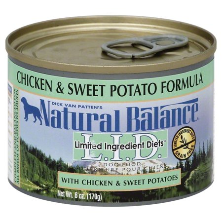 Natural Balance L.I.D. Limited Ingredient Diets Chicken & Sweet Potato Canned Dog