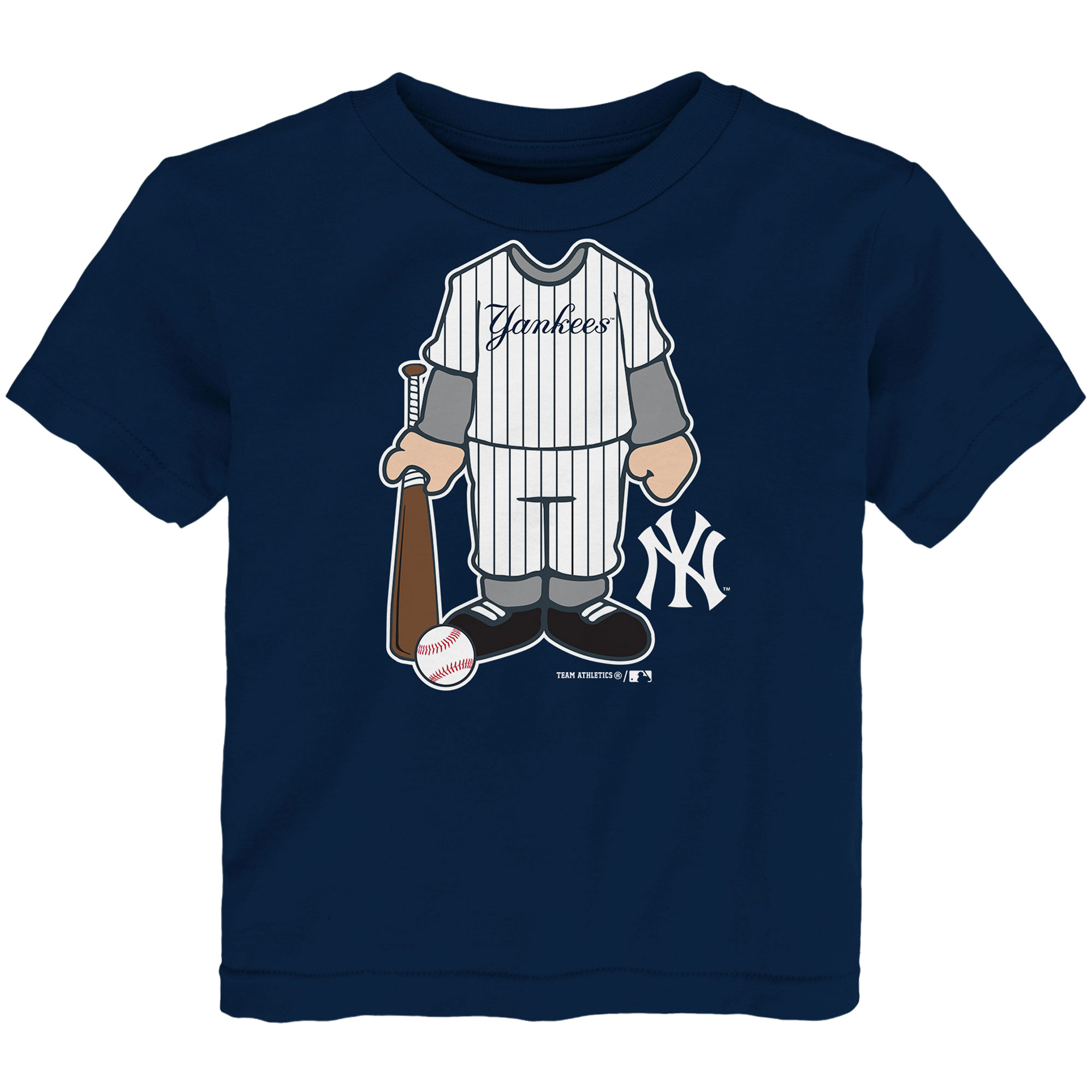Toddler Navy New York Yankees Uniform T-Shirt