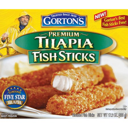 Gordons Credit Card >> Gorton's Tilapia Breaded Fish Sticks, 17.2 oz - Walmart.com
