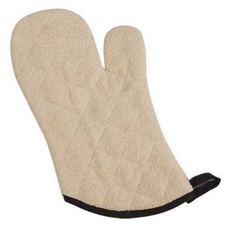 Heavy Duty Terry Cloth - SAN JAMAR Conventional Oven Mitt,Terry Clth,17