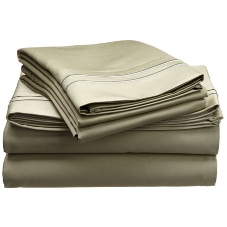 - 100% Egyptian Cotton Sheet Set & Duvet Cover Set & Pillowcases, 800TC, Solid