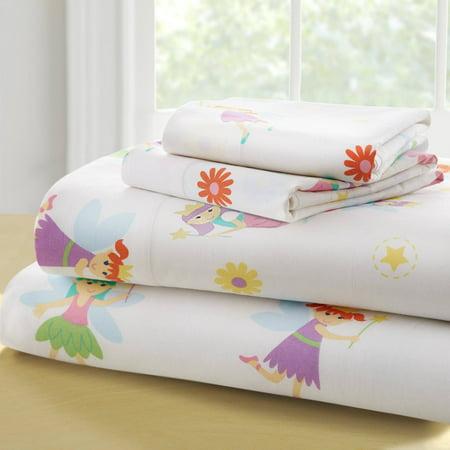 - Olive Kids Fairy Princess Toddler Bedding Sheet Set
